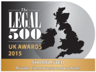 Finalist Chambers of the Year - Legal 500 UK Awards 2015